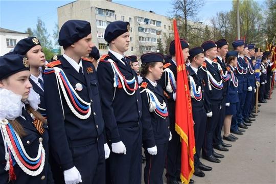 Более 270 кадет и юнармейцев приняли участие в Республиканском смотре-конкурсе «Салют Победы!»