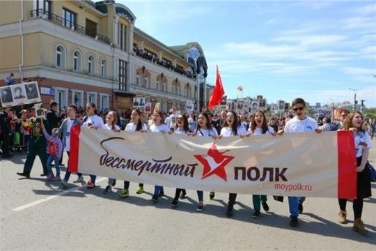 9 мая в Чебоксарах: Парад Победы, Бессмертный полк, торжества и салют