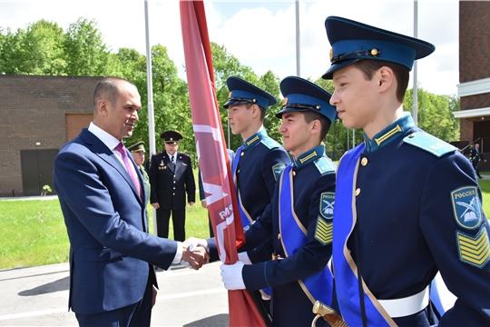 Михаил Игнатьев приветствовал участников республиканского слета кадет и ЮНАРМИИ «Вместе мы едины!»
