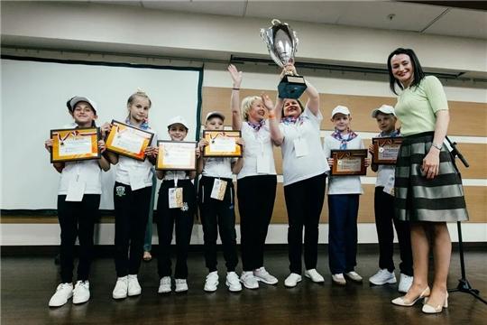 Школьники Чувашии - победители Всероссийского фестиваля «Веселые старты»
