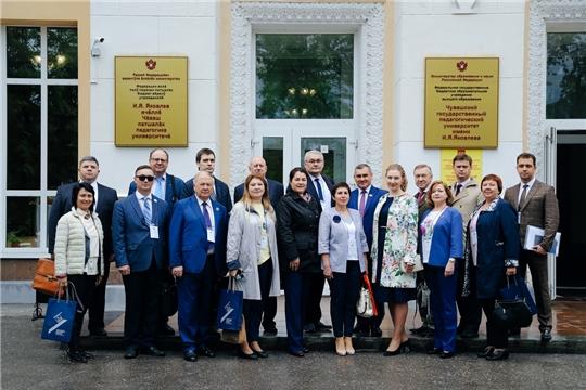 Участники Форума Ассоциации вузов «Волга – Янцзы» посетили ЧГПУ им. И.Я. Яковлева