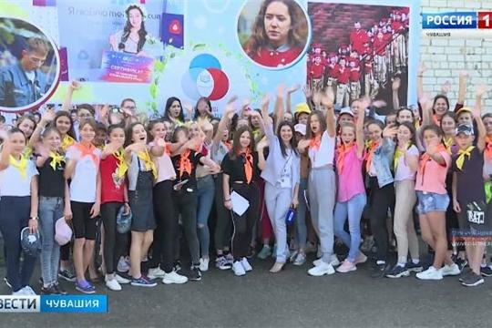 Впервые на базе детского оздоровительного лагеря «Звездный» в Цивильском районе организована профильная смена для будущих журналистов Источник: http://chgtrk.ru/news/23251