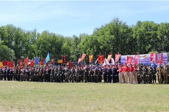 19-22 июня - республиканские финальные военно-спортивные игры «Зарница» и «Орленок»