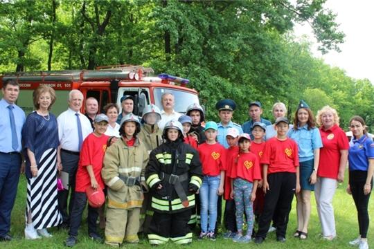 Универсиада по пожарной безопасности в детском лагере «Звездный»