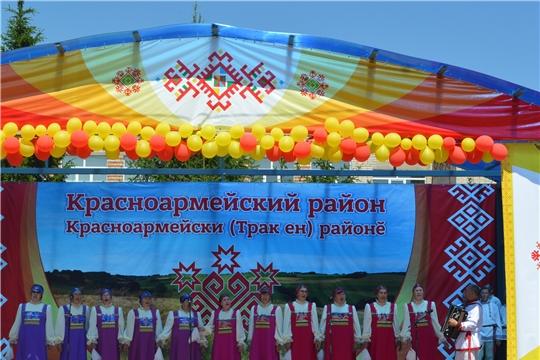 Министр Сергей Кудряшов принял участие в празднике «Акатуй» в Красноармейском районе