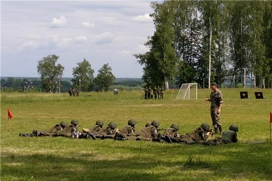 Кадеты Чувашии занимают призовые места в первой смене юнармейского оборонно-спортивного лагеря «Гвардеец -1»