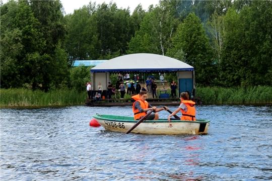 Межрегиональные соревнования по спасательному многоборью среди школьников «Ильинская волна – 2019»