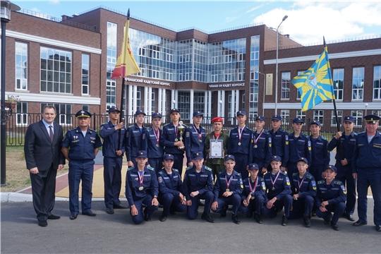 Команда Чувашии – победитель 1 смены юнармейского оборонно-спортивного лагеря «Гвардеец»