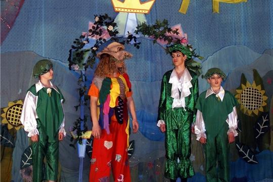 Театральная студия «Чудаки» чебоксарской гимназии № 46 - участник проекта «Театральное Приволжье»