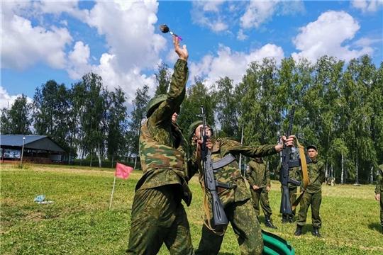 17 июля состоится закрытие второй смены Юнармейского оборонно-спортивного лагеря «Гвардеец»
