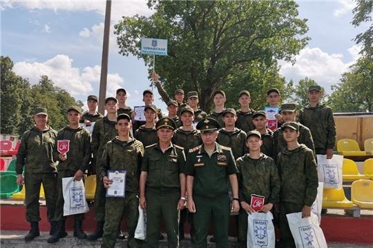 Завершилась вторая смена Юнармейского оборонно-спортивного лагеря «Гвардеец»