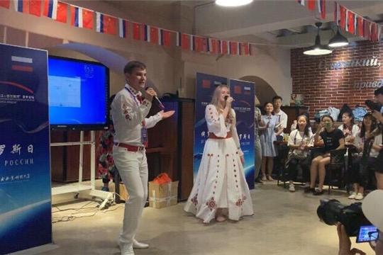 Делегация Чувашии на молодежном форуме «Волга-Янзцы»