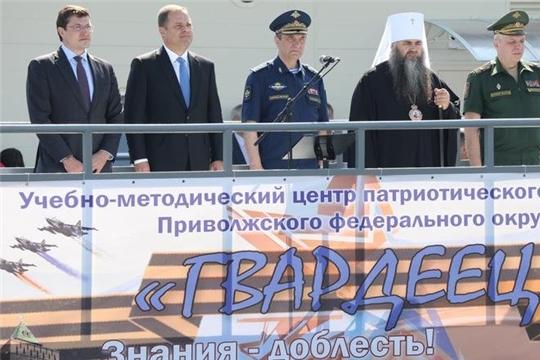 Игорь Комаров и Глеб Никитин открыли первый в России центр допризывной подготовки и патриотического воспитания «Гвардеец»