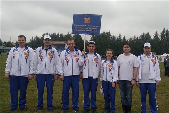 Команда  Минобразования  Чувашии приняла  участие в летнем этапе Спартакиады государственных и муниципальных служащих