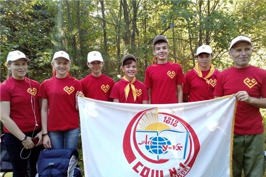 В Республиканском туристском слёте учащихся приняли участие пять команд