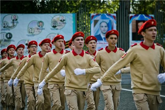 Команда Чувашии – бронзовый призер финальных  военно-спортивных игр «Зарница Поволжья»