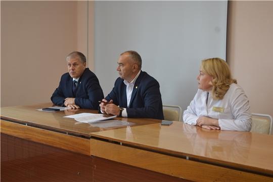 Министр Сергей Кудряшов принял участие в очередном Едином информационном дне в Красноармейском районе
