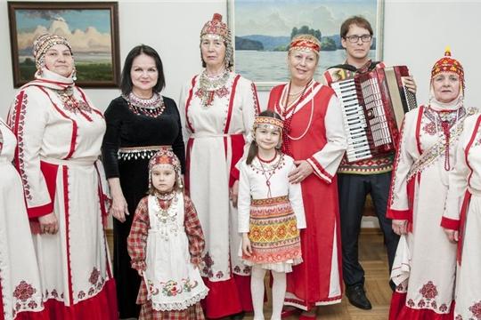 Литературный вечер, посвященный дню Чувашской культуры