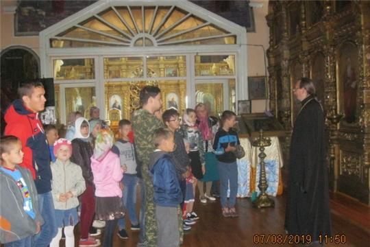Новости поселений: Для юных жителей Октябрьского сельского поселения организована православная экскурсия в храм