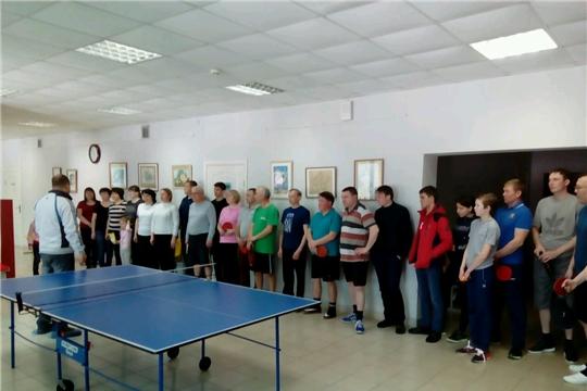 В рамках Дня здоровья и спорта состоялось лично-командное первенство Шемуршинского района по настольному теннису