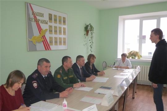 Призывная комиссия Шемуршинского района провела медицинский осмотр юношей призывного возраста