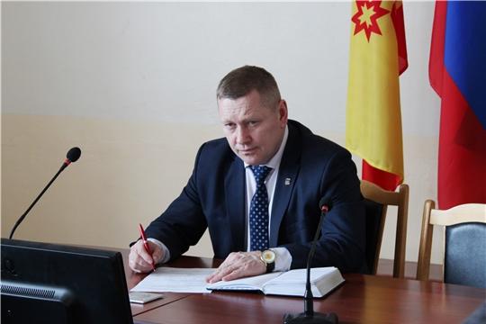 Состоялось заседание районной комиссии по обеспечению безопасности дорожного движения в Шемуршинском районе