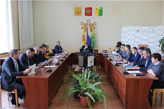 Состоялось заседание комиссии по предупреждению и ликвидации чрезвычайных ситуаций и обеспечению пожарной безопасности Шемуршинского района