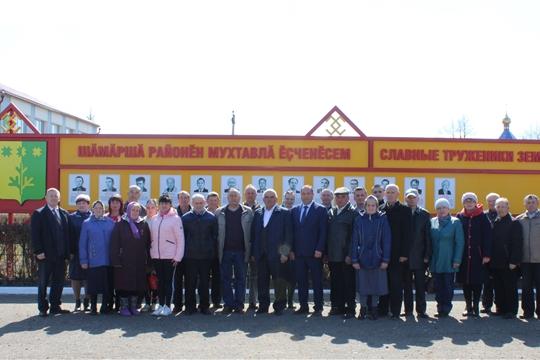 В Шемуршинском районе состоялась торжественная церемония открытия Галереи памяти