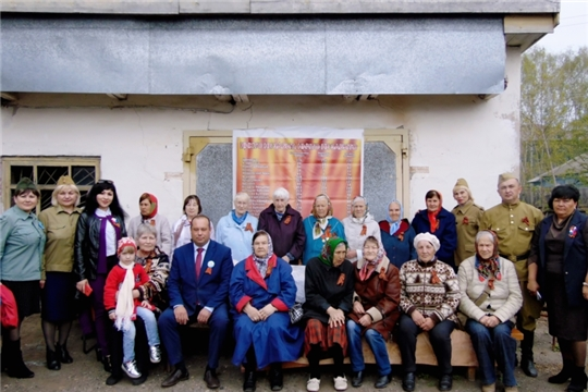 На территории музея истории с. Шемурша прошла встреча четырех поколений «Солдатская каша»