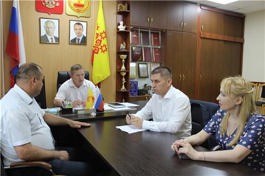 Сегодня в Шемуршинском районе состоялся Единый информационный день