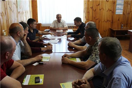 В Шемуршинском районе состоялось совещание по вопросам сельскохозяйственного страхования
