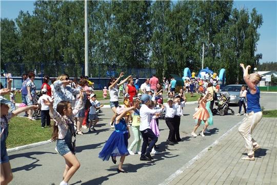 В Шемуршинском районе Международный день защиты детей отметили веселым праздником