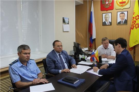 Главный федеральный инспектор по Чувашской Республике Геннадий Федоров провел прием граждан по личным вопросам в Шемуршинском районе