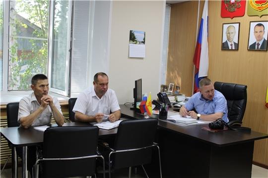 На совещании с главами сельских поселений Шемуршинского района подняты вопросы пожарной безопасности населенных пунктов