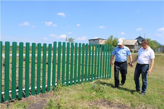 Глава администрации  Шемуршинского района Владимир Денисов посетил ряд сельских поселений