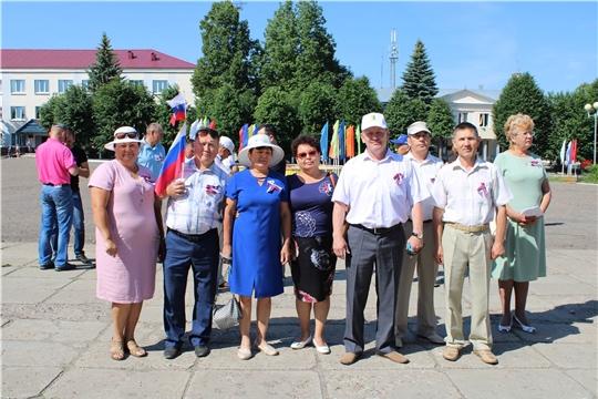В Шемуршинском районе отметили праздник, посвященный Дню России