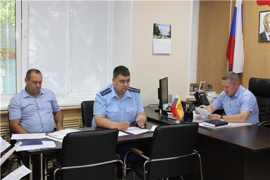 Сегодня в администрации состоялось заседание комиссии по профилактике правонарушений в Шемуршинском районе