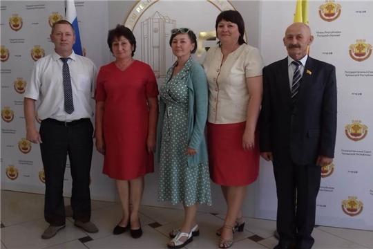 Делегация Шемуршинского района участвовала на торжественном собрании, посвященном 25-летию Государственного Совета Чувашской Республики