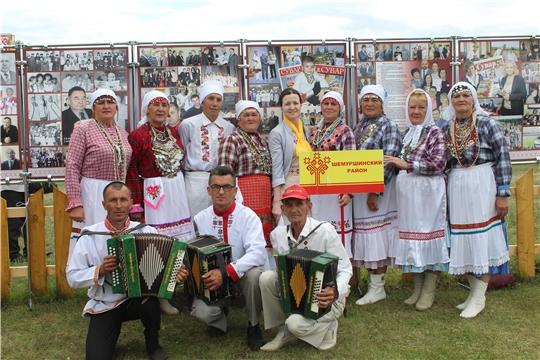 Народный фольклорный коллектив «Аххаяс» на празднике чувашской культуры «Уяв» в Республике Татарстан
