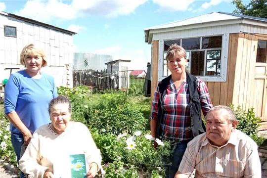 С Всероссийским Днем семьи, любви и верности Большебуяновское сельское поселение поздравили односельчан