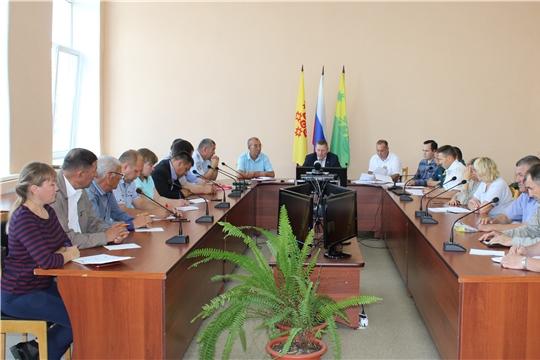 Состоялось заседание комиссии Шемуршинского района по предупреждению и ликвидации чрезвычайных ситуаций и обеспечению пожарной безопасности