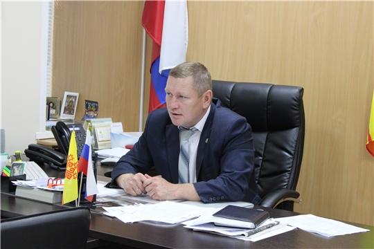 Глава администрации Шемуршинского района Владимир Денисов провел еженедельную планерку
