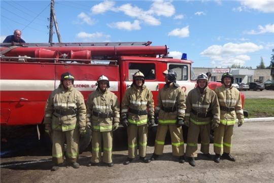 Шемуршинские огнеборцы бронзовые призеры республиканских соревнований по пожарно-спасательному спорту
