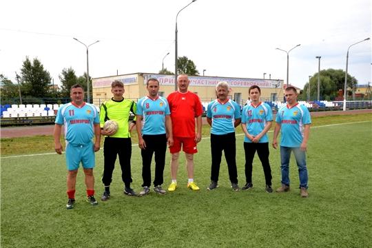 Команда Шемуршинского района в зональных соревнованиях по мини - футболу заняла 3 место
