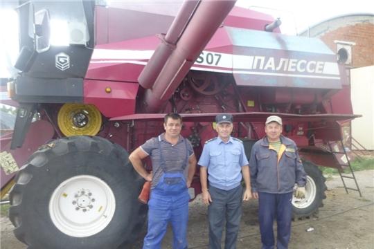 Профилактическая операция «Трактор» в Шемуршинском районе