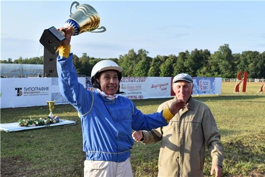 Александр Максимов - серебряный призер Всероссийских конных бегов