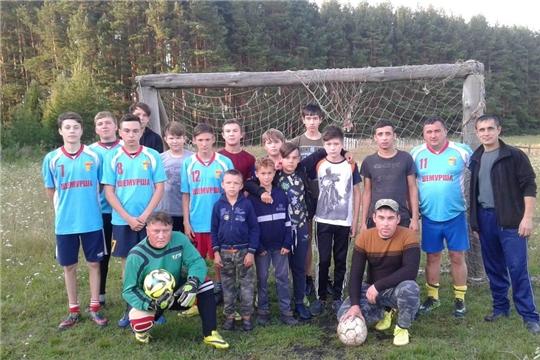 Состоялся I тур второго круга Первенства Шемуршинского района по мини-футболу