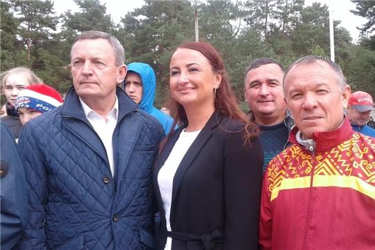 Команда Шемуршинского района приняла участие во Всероссийском кроссе памяти Ардалиона Игнатьева
