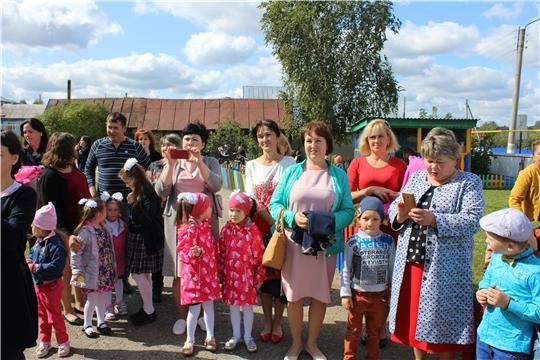 Торжественное открытие «Шемуршинского детского сада «Ромашка»