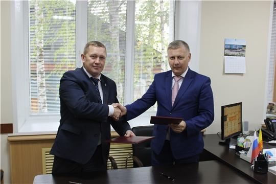 Глава администрации Шемуршинского района встретился с руководителем АУ «НТРК Чувашии»